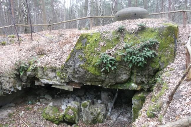 Fortyfikacje Trójkąt Lidzbarski. Pamiętają czasy walk. Dziś stały się obiektem odwiedzanym przez liczne grupy turystów interesujących się historią i zabytkami.